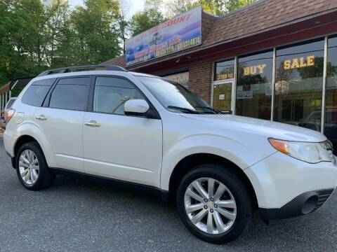 2011 Subaru Forester for sale at D & M Discount Auto Sales in Stafford VA