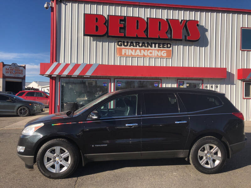 2009 Chevrolet Traverse for sale at Berry's Cherries Auto in Billings MT