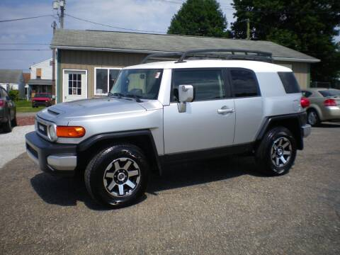 2007 Toyota FJ Cruiser for sale at Starrs Used Cars Inc in Barnesville OH