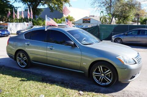2006 Infiniti M35 for sale at SUPER DEAL MOTORS in Hollywood FL