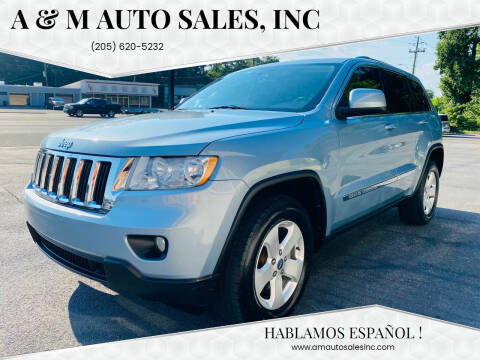 2012 Jeep Grand Cherokee for sale at A & M Auto Sales, Inc in Alabaster AL