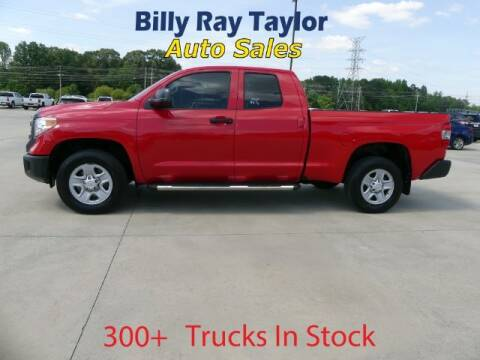 2016 Toyota Tundra for sale at Billy Ray Taylor Auto Sales in Cullman AL