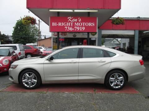 2014 Chevrolet Impala for sale at Bi Right Motors in Centralia WA