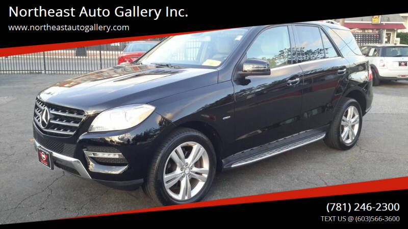 2012 Mercedes-Benz M-Class for sale at Northeast Auto Gallery Inc. in Wakefield Ma MA