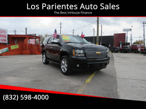 2011 Chevrolet Tahoe for sale at Los Parientes Auto Sales in Houston TX