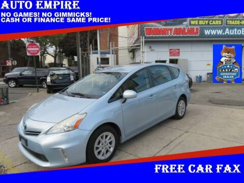 2013 Toyota Prius v for sale at Auto Empire in Brooklyn NY