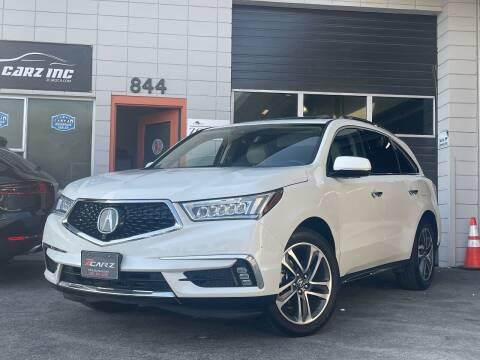 2018 Acura MDX for sale at Z Carz Inc. in San Carlos CA
