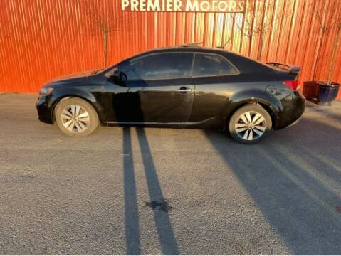 2013 Kia Forte Koup for sale at PREMIERMOTORS  INC. in Milton Freewater OR