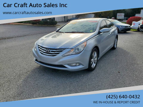 2011 Hyundai Sonata for sale at Car Craft Auto Sales Inc in Lynnwood WA