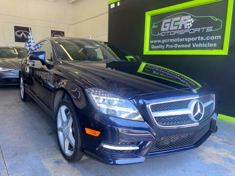 2014 Mercedes-Benz CLS for sale at GCR MOTORSPORTS in Hollywood FL