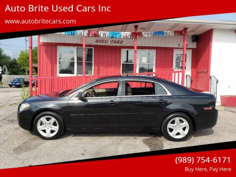 2010 Chevrolet Malibu for sale at Auto Brite Used Cars Inc in Saginaw MI