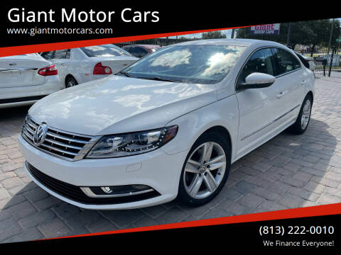 2014 Volkswagen CC for sale at Giant Motor Cars in Tampa FL