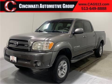 2006 Toyota Tundra for sale at Cincinnati Automotive Group in Lebanon OH