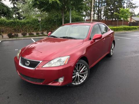 2006 Lexus IS 250 for sale at JZ Auto Sales in Happy Valley OR