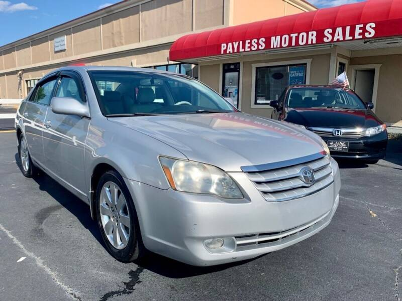 2006 Toyota Avalon for sale at Payless Motor Sales LLC in Burlington NC