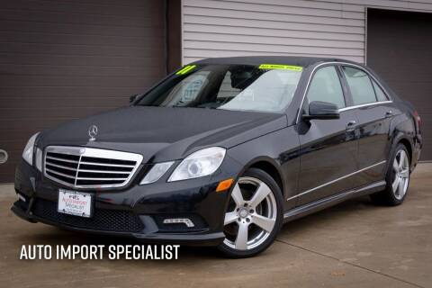 2011 Mercedes-Benz E-Class for sale at Auto Import Specialist LLC in South Bend IN