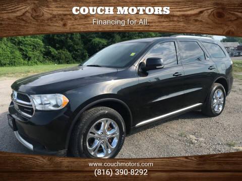 2011 Dodge Durango for sale at Couch Motors in Saint Joseph MO