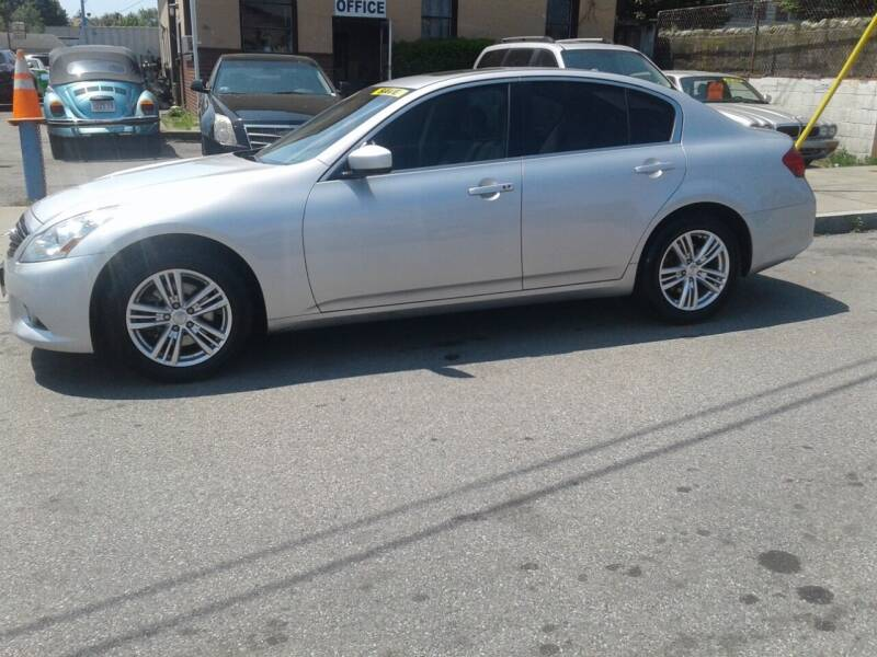 2013 Infiniti G37 Sedan for sale at Nelsons Auto Specialists in New Bedford MA
