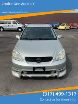 2004 Toyota Matrix for sale at Choice One Auto LLC in Beech Grove IN