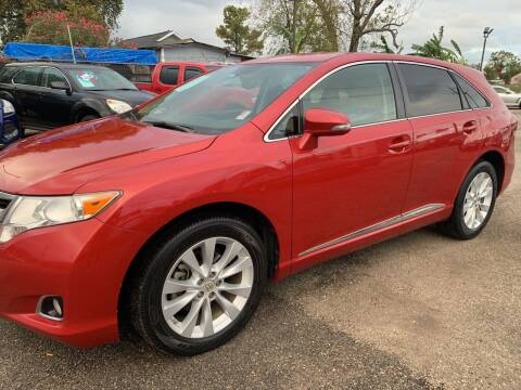 2014 Toyota Venza for sale at FAIR DEAL AUTO SALES INC in Houston TX