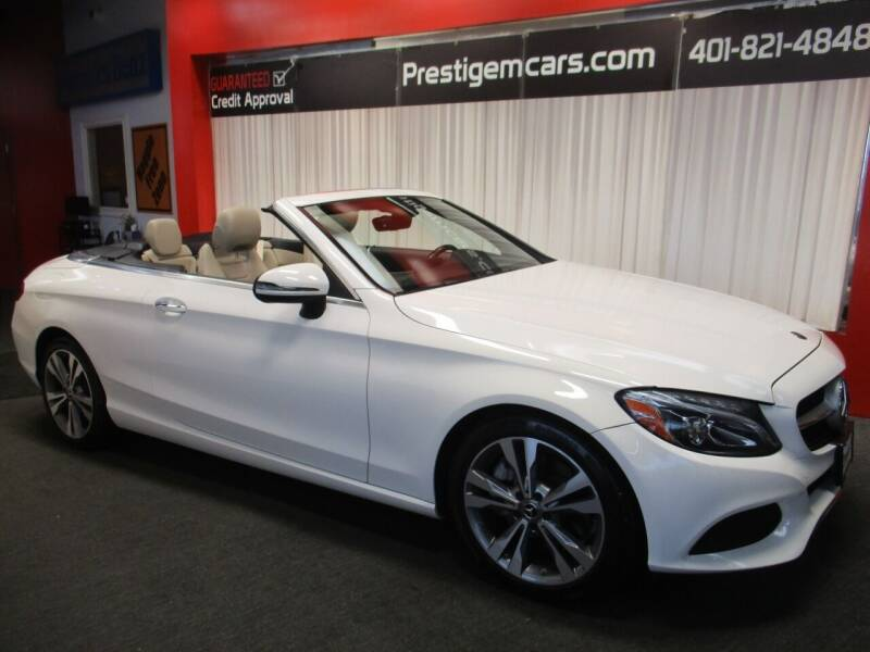 2018 Mercedes-Benz C-Class for sale at Prestige Motorcars in Warwick RI