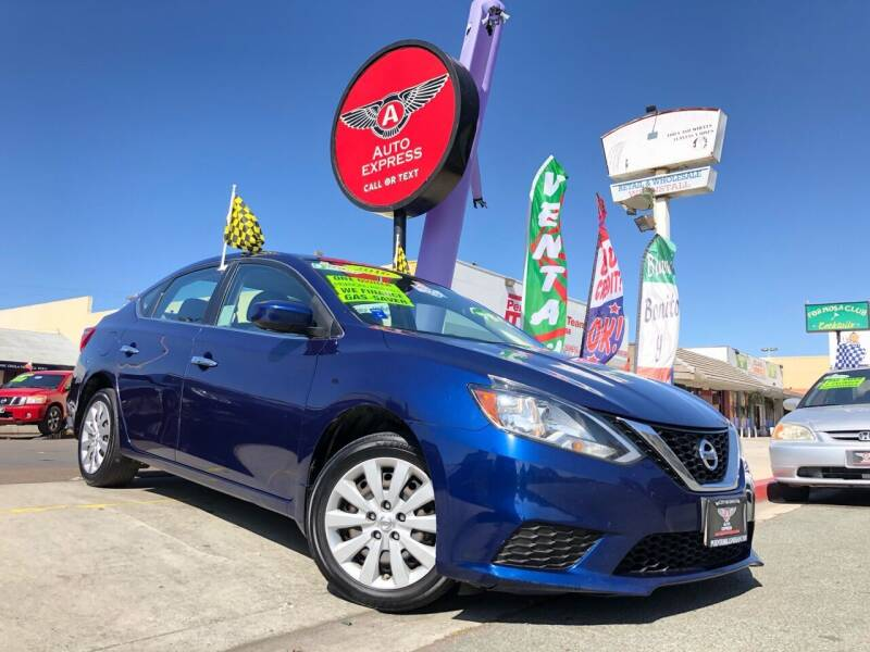 2016 Nissan Sentra for sale at Auto Express in Chula Vista CA