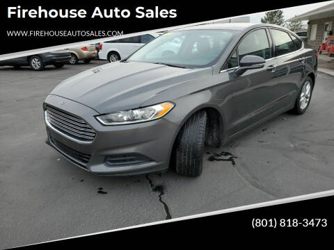 2016 Ford Fusion for sale at Firehouse Auto Sales in Springville UT