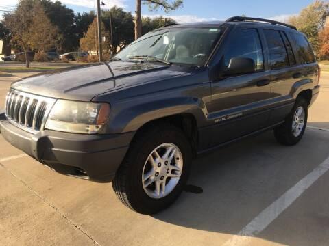 2003 Jeep Grand Cherokee for sale at Safe Trip Auto Sales in Dallas TX
