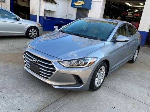 2017 Hyundai Elantra for sale at US Auto Network in Staten Island NY