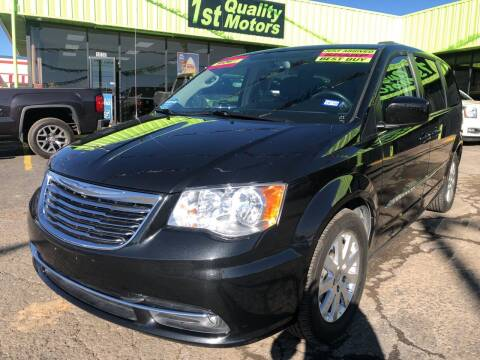 2016 Chrysler Town and Country for sale at 1st Quality Motors LLC in Gallup NM
