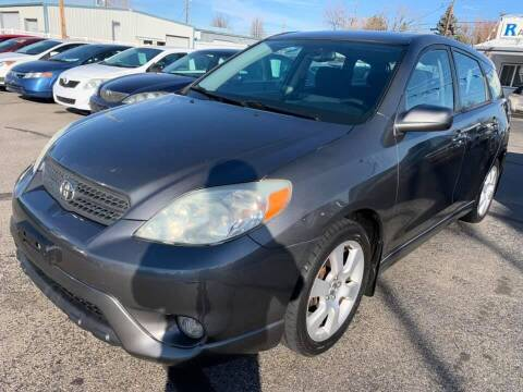 2006 Toyota Matrix for sale at RABI AUTO SALES LLC in Garden City ID