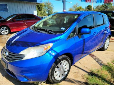 2014 Nissan Versa Note for sale at QUICK SALE AUTO in Mineola TX