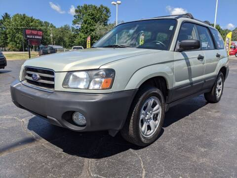 2005 Subaru Forester for sale at West Point Auto Sales in Mattawan MI