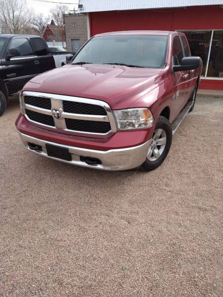 2014 RAM Ram Pickup 1500 for sale at PYRAMID MOTORS AUTO SALES in Florence CO