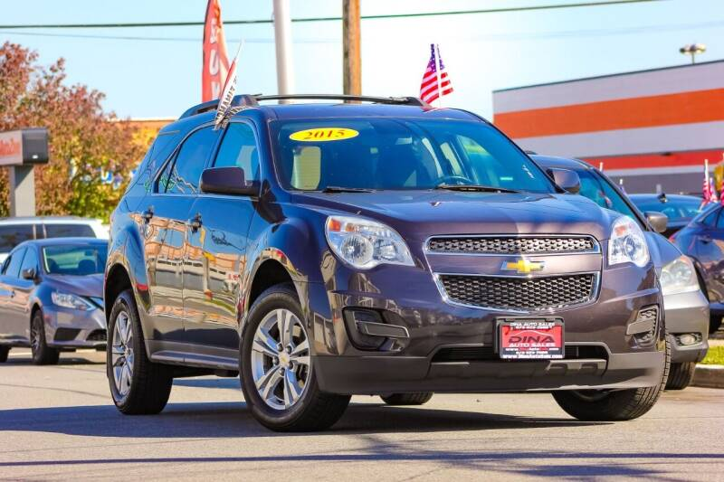 2015 Chevrolet Equinox for sale at Dina Auto Sales in Paterson NJ