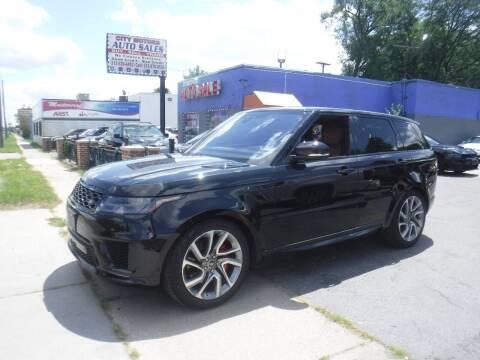 2018 Land Rover Range Rover Sport for sale at City Motors Auto Sale LLC in Redford MI