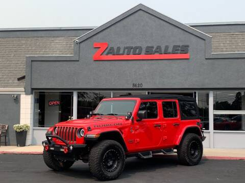 2018 Jeep Wrangler Unlimited for sale at Z Auto Sales in Boise ID