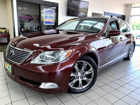 2008 Lexus LS 460 for sale at SAINT CHARLES MOTORCARS in Saint Charles IL