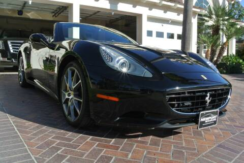 2013 Ferrari California for sale at Newport Motor Cars llc in Costa Mesa CA