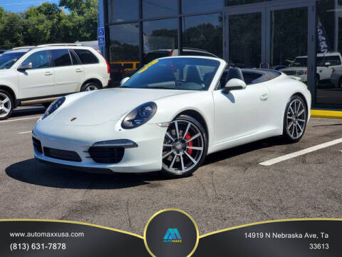 2013 Porsche 911 for sale at Automaxx in Tampa FL