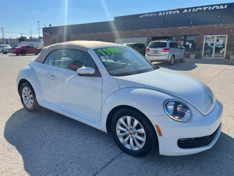 2017 Volkswagen Beetle Convertible for sale at Motor City Auto Auction in Fraser MI