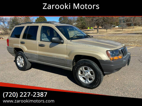 1999 Jeep Grand Cherokee for sale at Zarooki Motors in Englewood CO