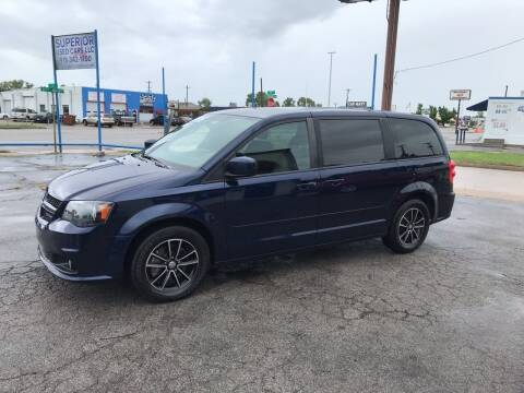 2017 Dodge Grand Caravan for sale at Superior Used Cars LLC in Claremore OK