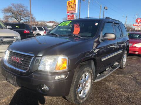 2003 GMC Envoy for sale at RJ AUTO SALES in Detroit MI