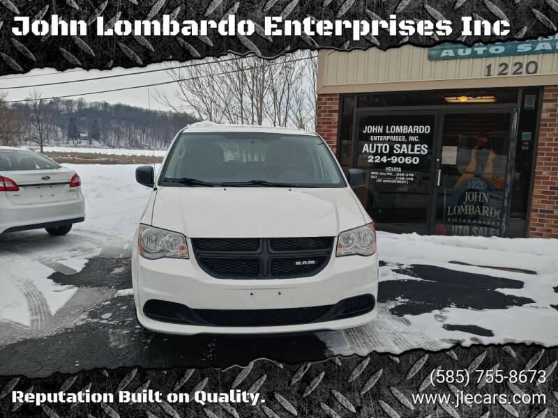 2013 RAM C/V for sale at John Lombardo Enterprises Inc in Rochester NY