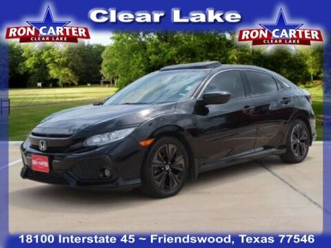 2017 Honda Civic for sale at Ron Carter  Clear Lake Used Cars in Houston TX