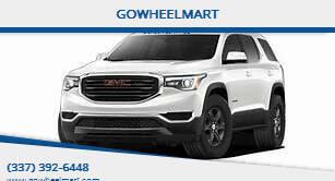 2018 GMC Acadia for sale at GOWHEELMART in Leesville LA