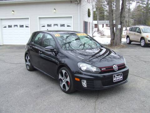 2012 Volkswagen GTI for sale at DUVAL AUTO SALES in Turner ME