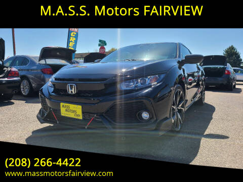 2018 Honda Civic for sale at M.A.S.S. Motors - Fairview in Boise ID