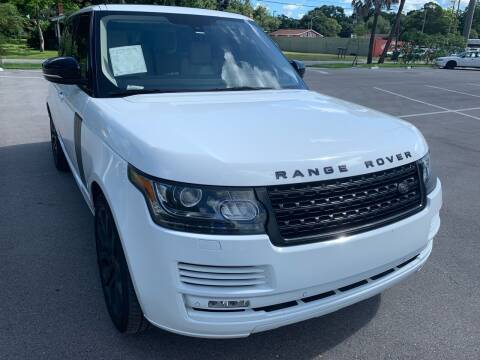 2013 Land Rover Range Rover for sale at Consumer Auto Credit in Tampa FL